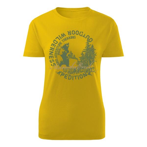 dd2fa2796e8f Tričko s potlačou Divočina s potiskem medvěda a nápisy