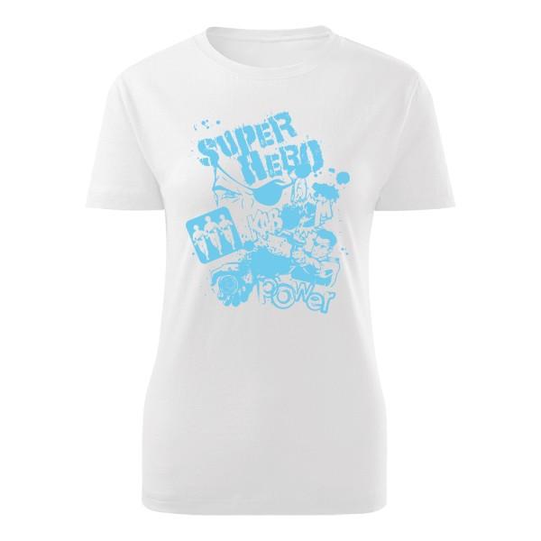 Tričko s potlačou Super hero-modrá  c1126519e1f